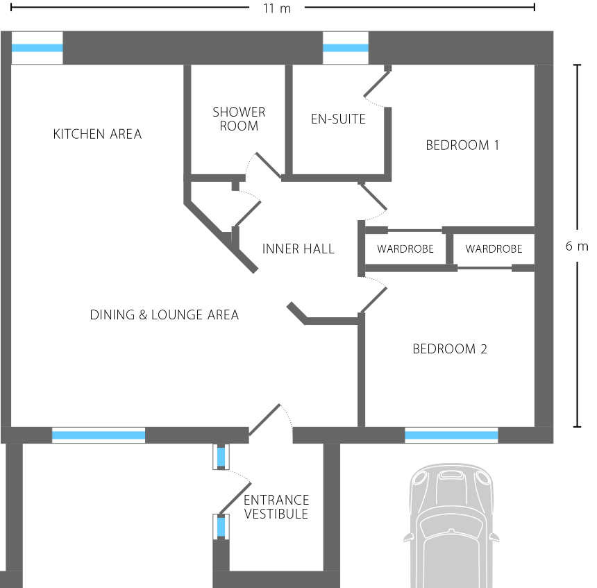 Sundowner floor plan